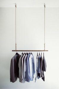 Minimalismus Challenge: Kleiderstange minimalistisch